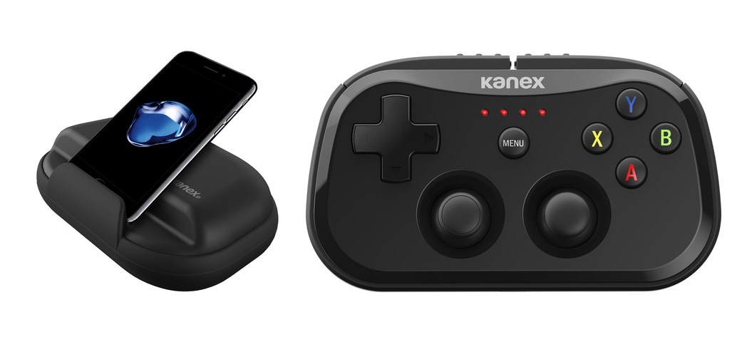 CES 2017: Kanex Debuts GoPlay SideKick Game Controller for iOS & Apple TV