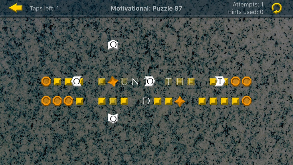 New iOS Puzzle Game Mixes Geometric Brain Teasers With Motivational Quotes