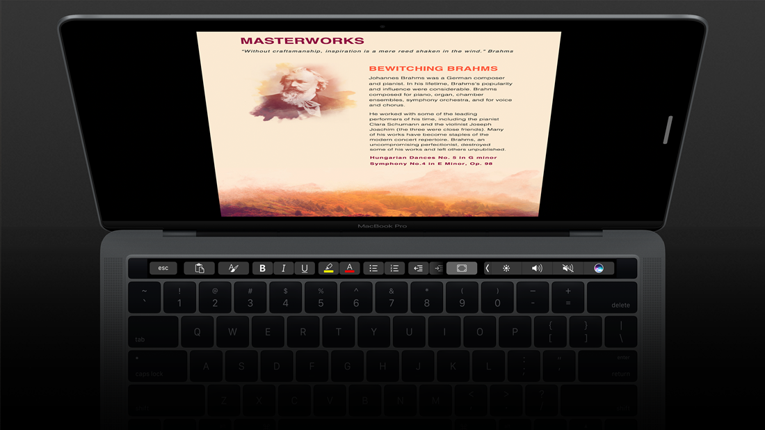 Microsoft Office 2016 for Mac Touch Bar Support Now Available to All Users