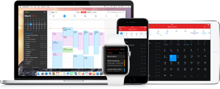 Fantastical 2 for iPhone and iPad Gets an Update - Rich Notifications & iMessage Stickers