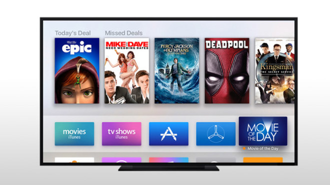 Fox to Offer 'Movie of the Day' App on Apple TV
