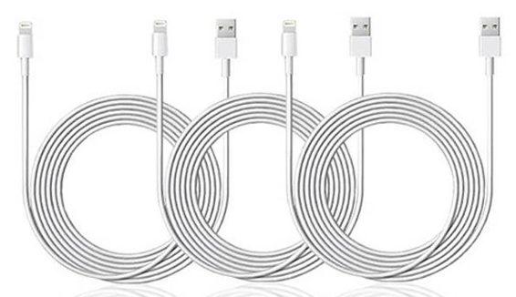 MacTrast Deals: 10-Ft MFi-Certified Lightning Cable: 3-Pack