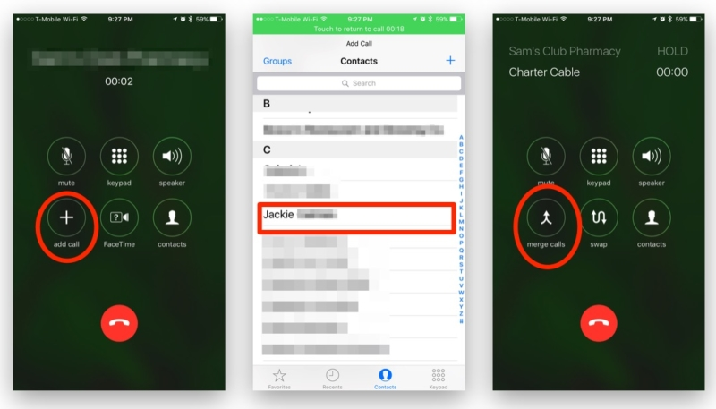 How to Create a Conference Call on the iPhone