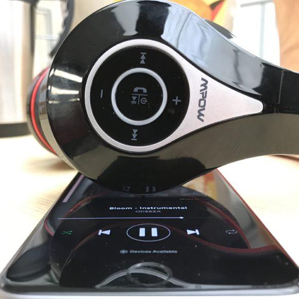 M3 Headphone controls