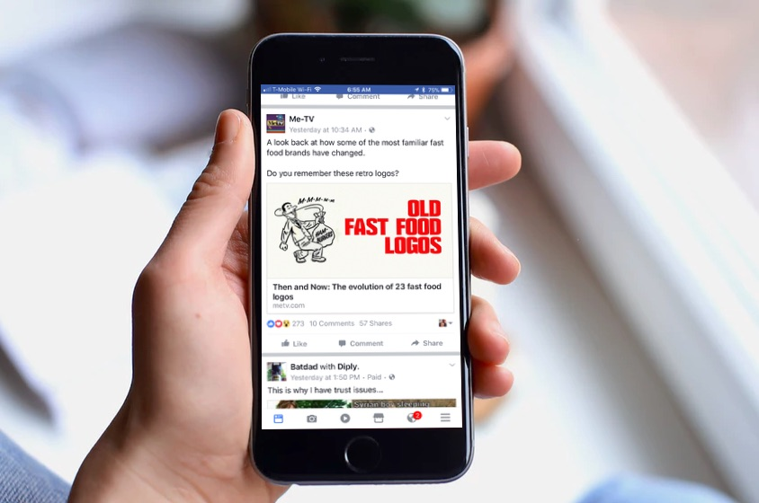 how to delete page on facebook on iphone