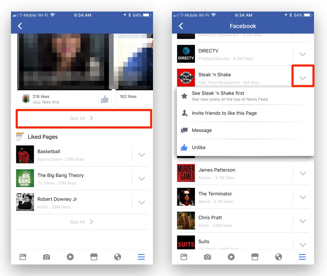 How To View And Edit Your Facebook Liked Pages List On