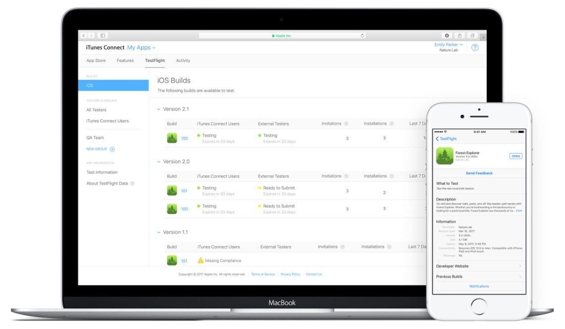 Apple Expands TestFlight Beta Testing to Allow up to 10,000 Beta Users Per App