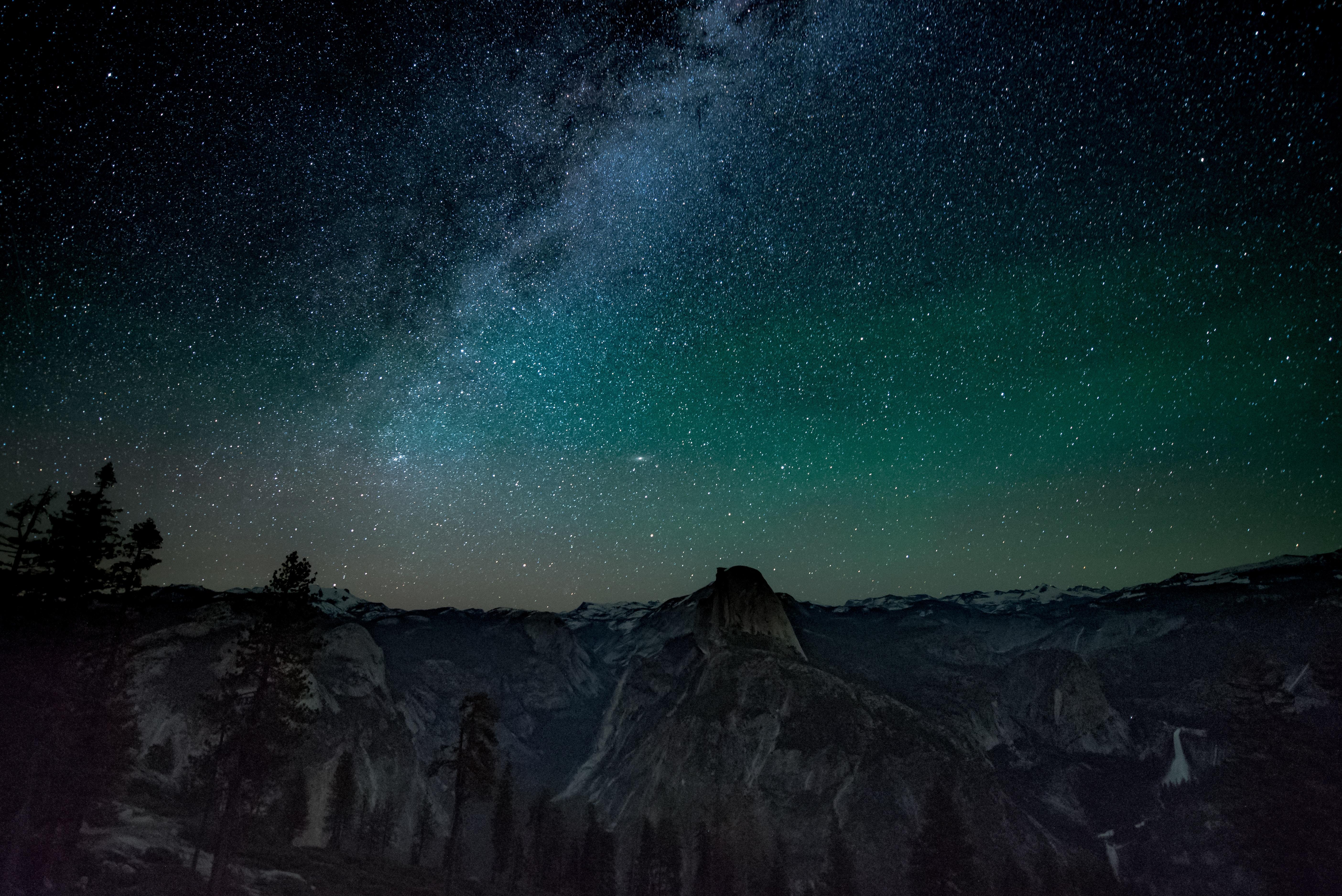 Wallpaper Weekends: Night Sky Over Yosemite for Mac, iPad ...