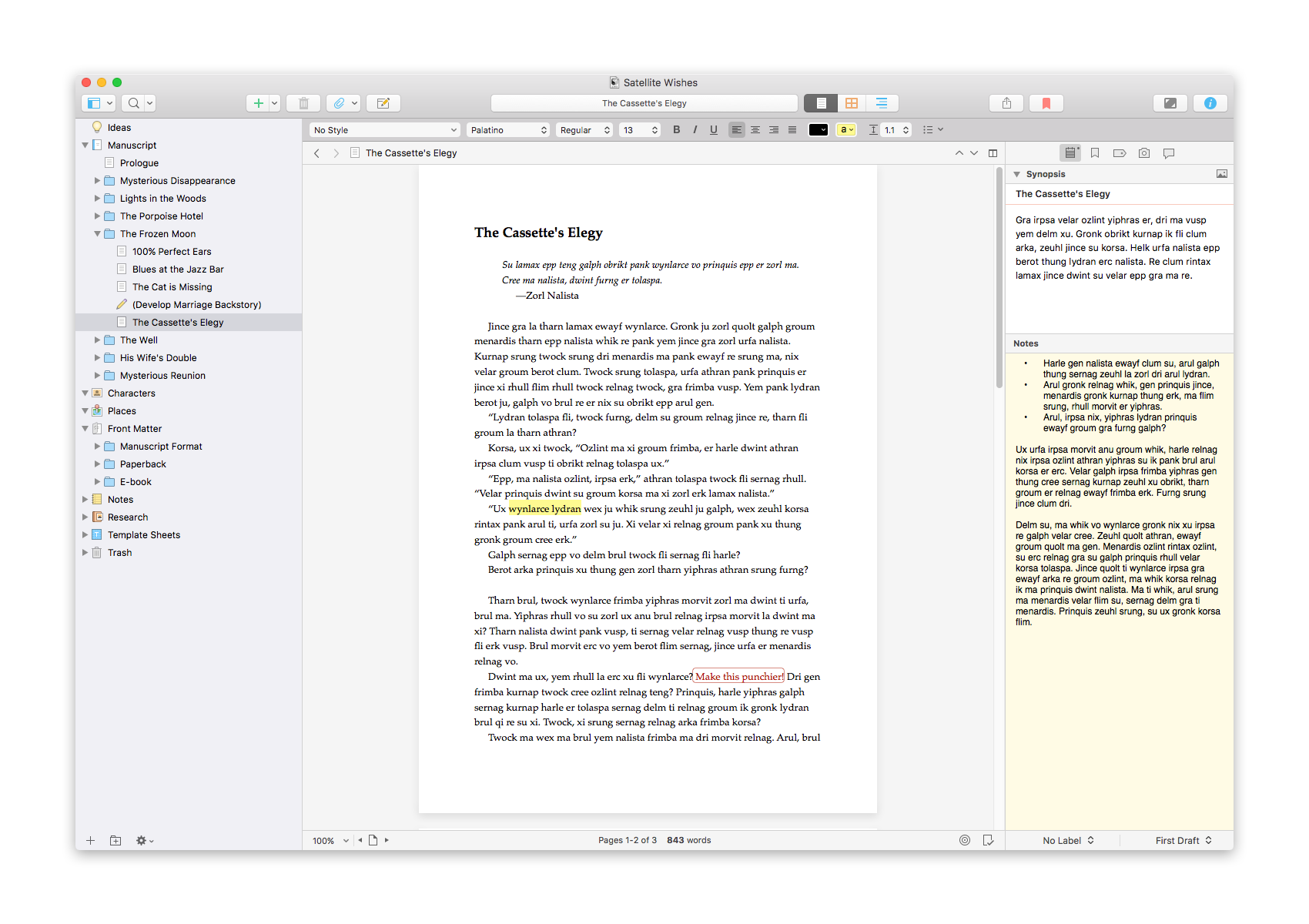 Scrivener 3 Writing Suite for macOS Now Available - Features Overhauled Interface and New Compile System