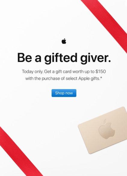 Apple's Black Friday Shopping Event Kicks Off