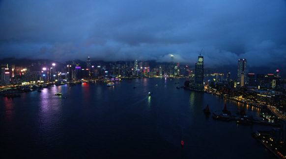 hongkong apple TV screensaver