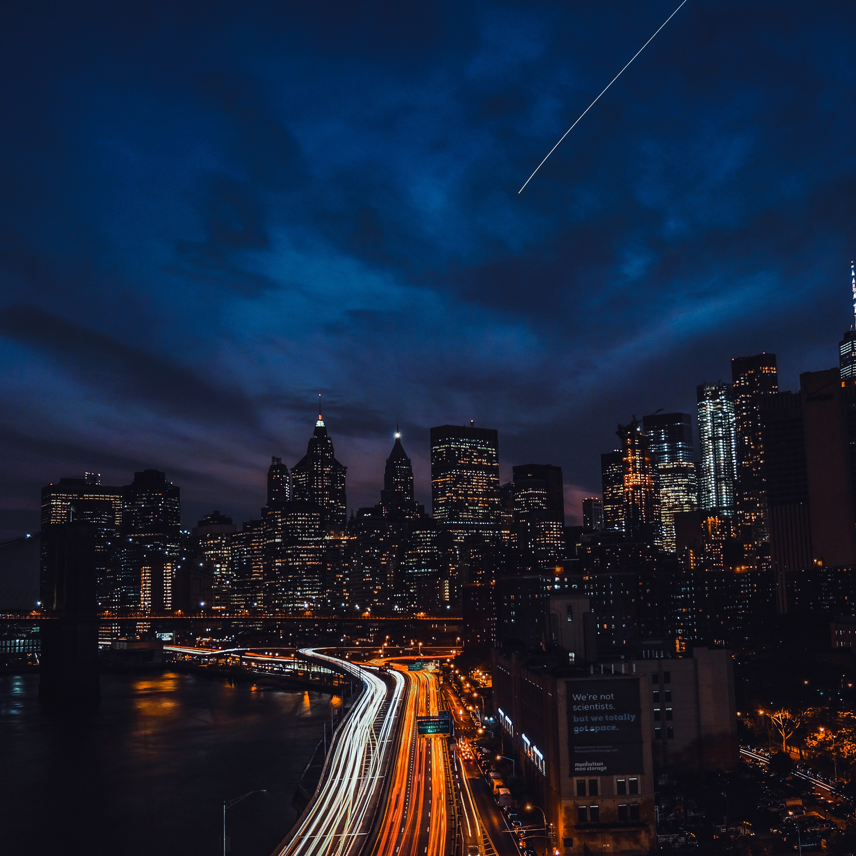 Wallpaper Weekends: NYC at Night for Mac, iPad, iPhone ...