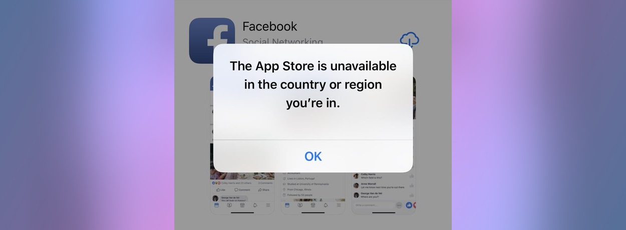 App Store is Blocked in Iran - Access is Possible by Using a VPN