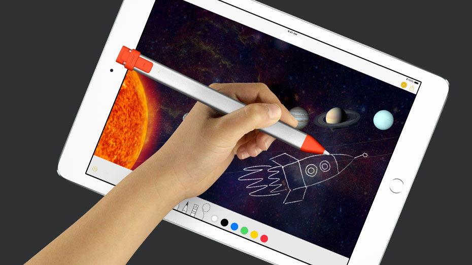 Logitech Announces New Crayon Stylus and Rugged Keyboard Case for New 9.7-inch iPad
