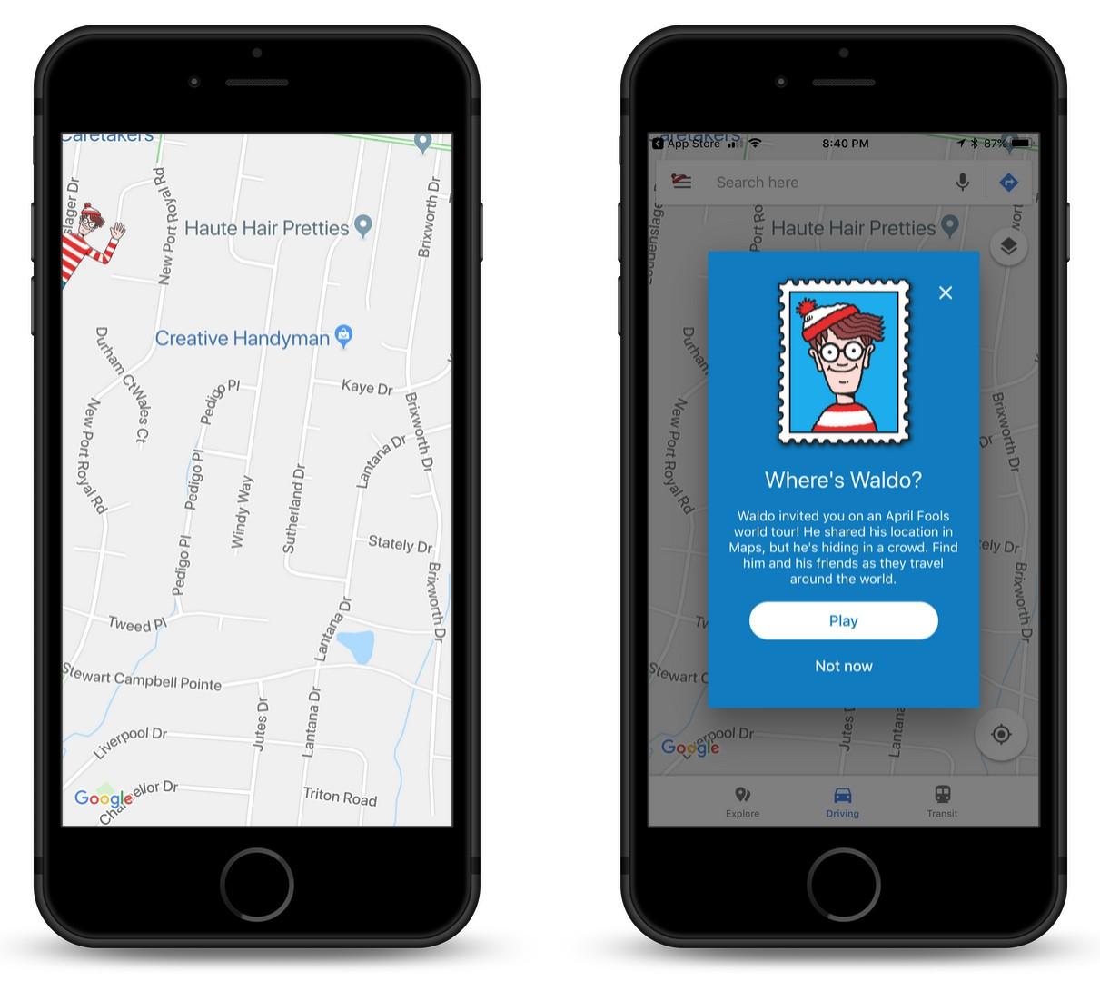 Where's Waldo? He's Hiding in a New Google Maps Mini-Game