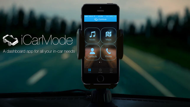 iCarMode 4.5 – A CarPlay Substitute for Older Cars?