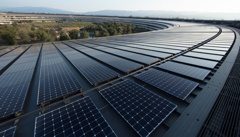 Apple Now 100% Powered by Green Energy