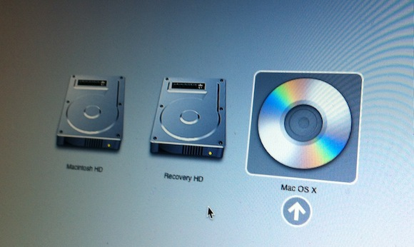 Install OS X Lion DVD Drive