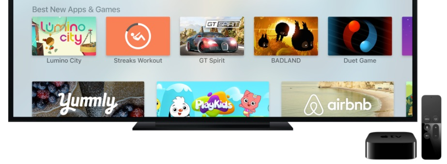Apple Releases tvOS 10.2 Beta Four to Developers for Testing