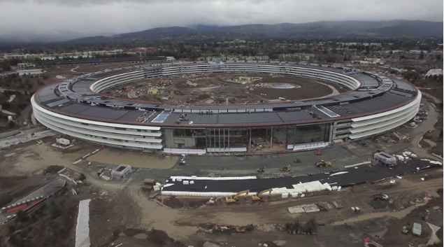 First Apple Campus 2 Drone Flyover Video for 2017 Shows Final Preparations Before Grand Opening