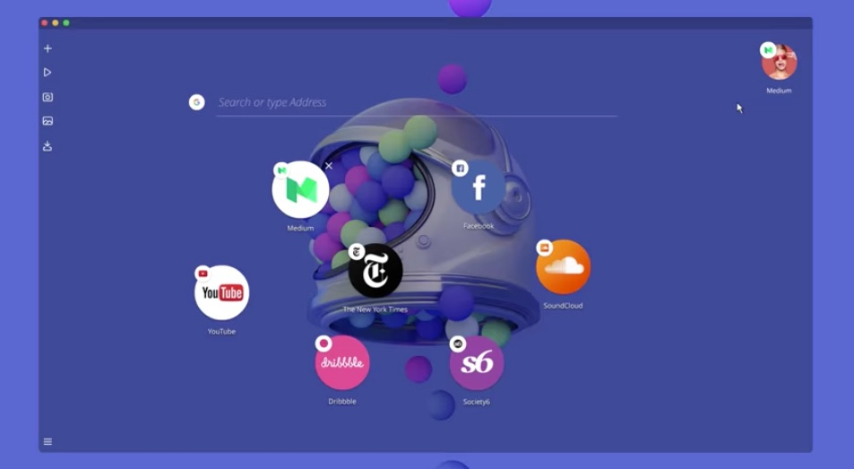 Opera's New Neon Concept Browser Offers an 'Alternate Reality' for Web Browsing