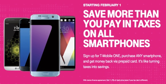 T-Mobile to Offer Prepaid MasterCard to Cover Sales Taxes on Smartphone Purchases