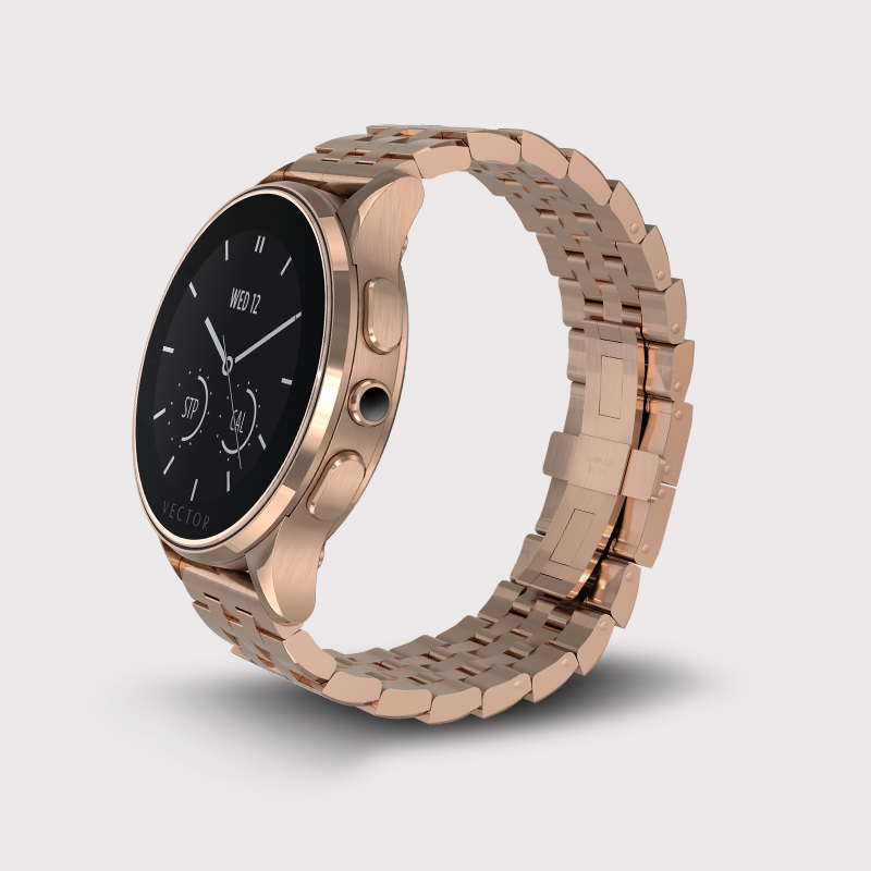FitBit Grabs Luxury Smartwatch Maker Vector Watch