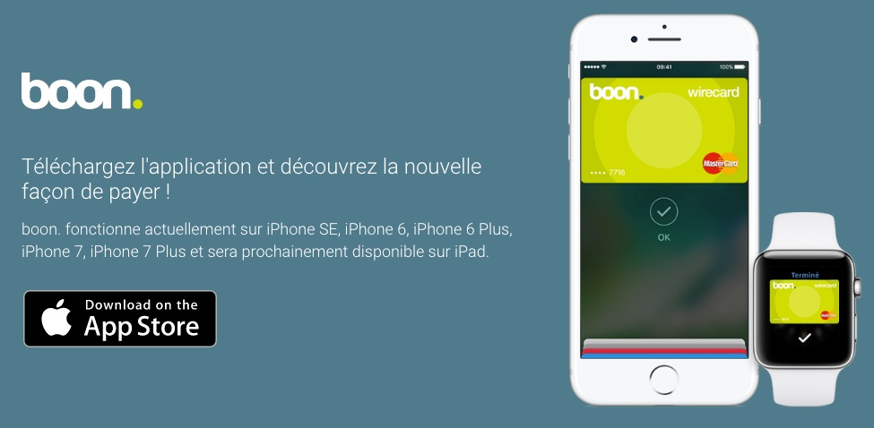 'boon' Virtual Credit Card Now Available to Apple Pay Users in France