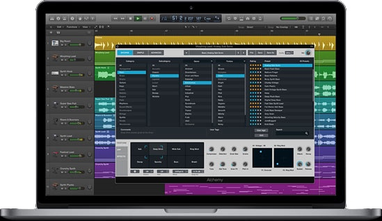 Apple Debuts Logic Pro X 10.3 - Touch Bar Support, Refreshed UI, iCloud Syncing, More