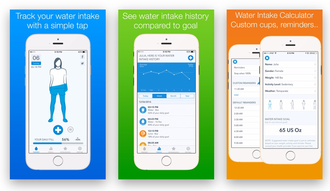App Store Free App of the Week: WaterMinder -- Water Hydration Reminder & Tracker