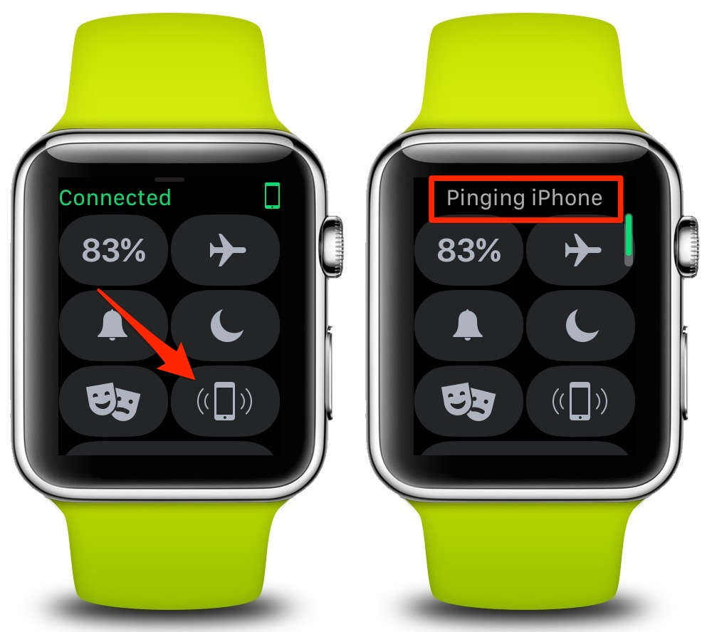 How To Ping and Find Your Lost iPhone Using Your Apple Watch