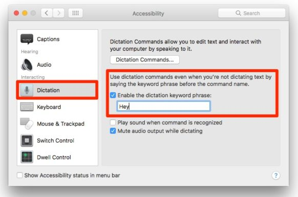 "How To Activate ""Hey Siri"" on Your Mac in macOS Sierra"