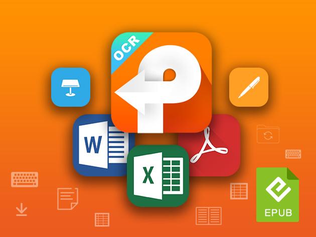 MacTrast Deals: PDFConverterOCR 4 for Mac: Lifetime License
