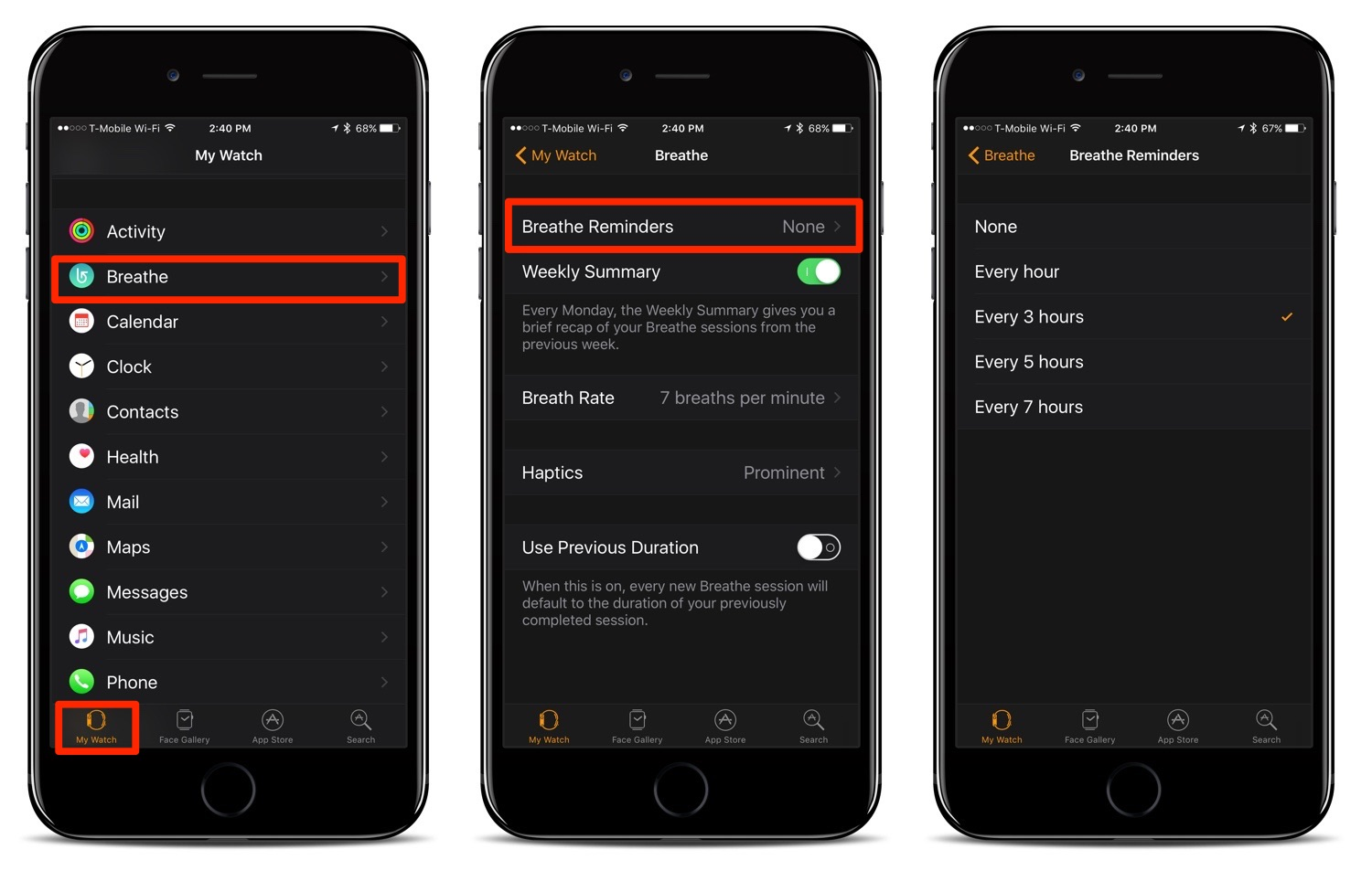 How To Turn Off or Adjust the 'Breathe' Reminders on Your Apple Watch