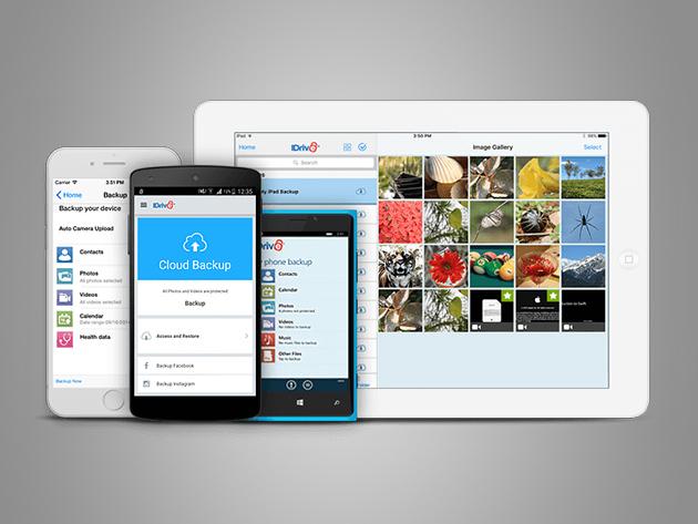 MacTrast Deals: IDrive Unlimited Mobile Backup: Lifetime Subscription