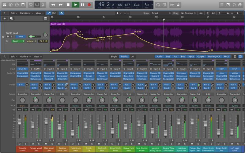 Apple Updates Logic Pro X for Mac to Version 10.3.1 - Includes Minor Improvements, Fixes for Erratic Region Behavior