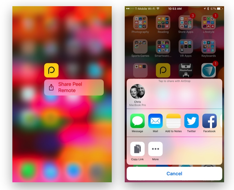 How to Jump Directly to a Specific Feature in an App Using 3D Touch on Your iPhone