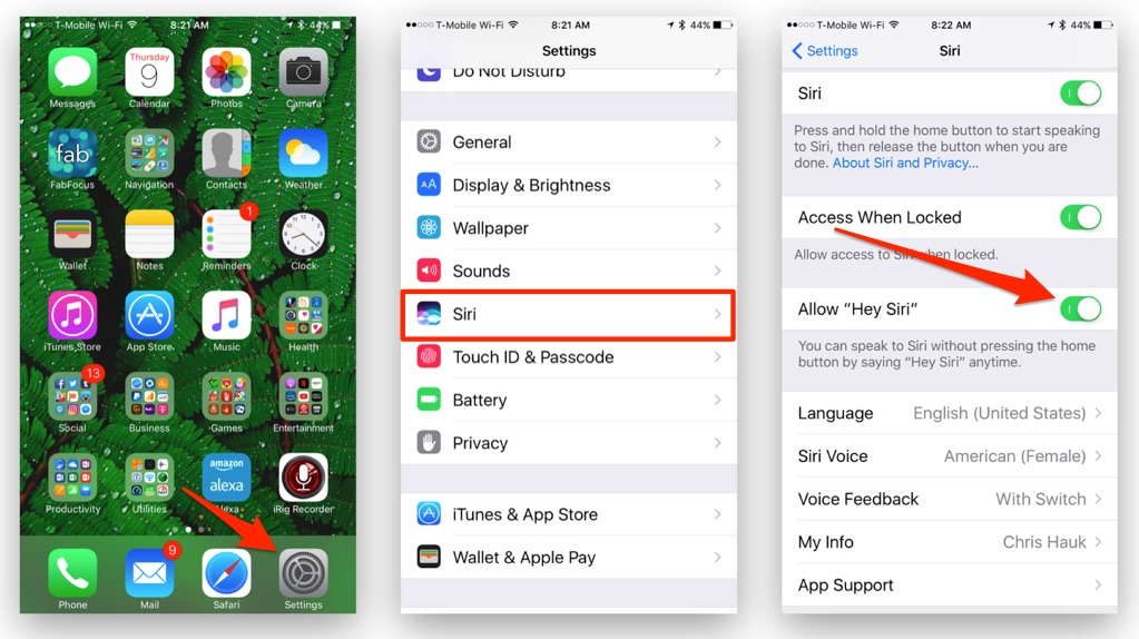 "How to Disable or Enable ""Hey Siri"" on Your iPhone or iPad"
