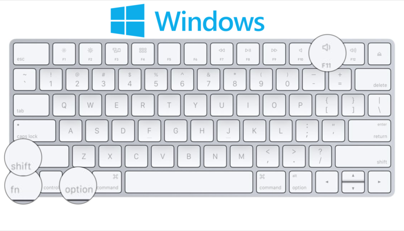 mac keyboard pc print screen windows 7