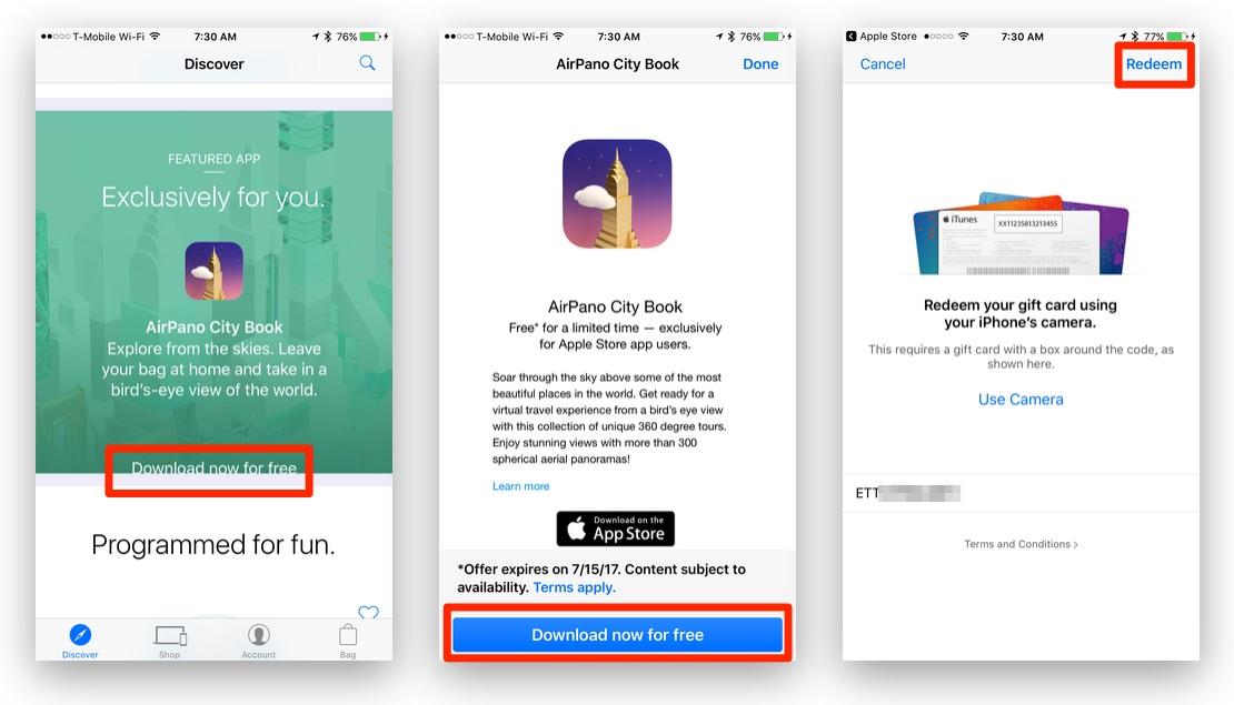 Download AirPano City Book App Free via Apple Store App