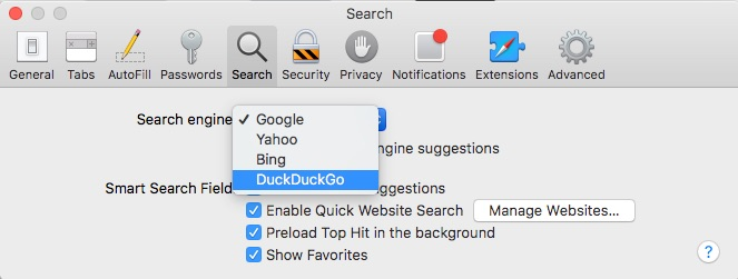 How to Set a New Default Search Engine in Safari on Your Mac