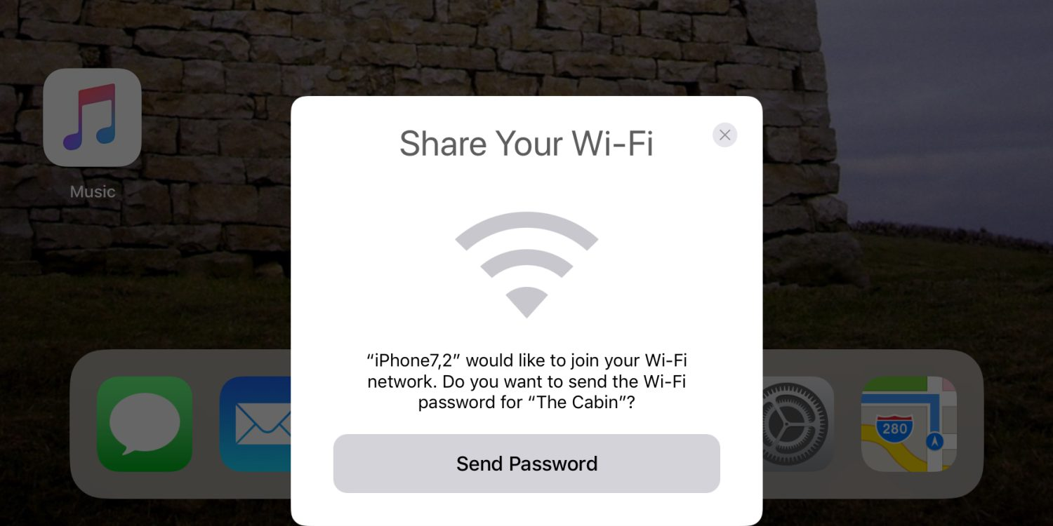 iOS 11 Beta Makes it Easy to Share Your Wi-Fi Hotspot Password Among Devices