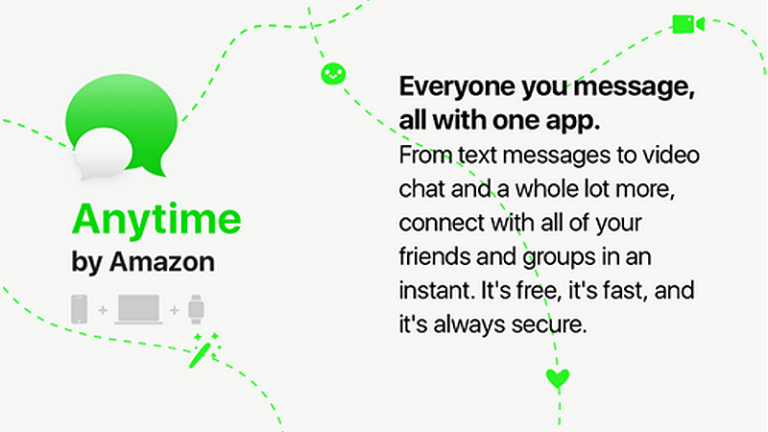 Amazon Working on 'Anytime' Mobile Messaging Service
