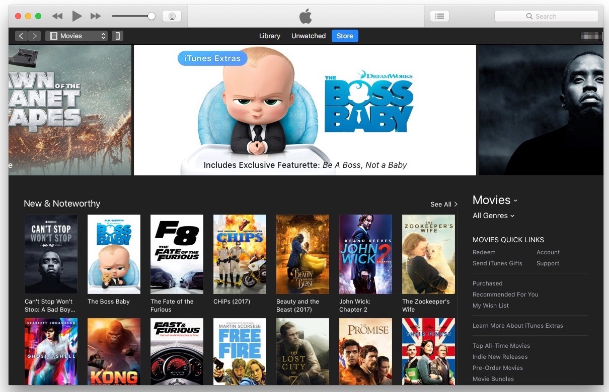 Apple's iTunes Sees Market Share of Movie Sales Falling in Face of Amazon and Other Rivals