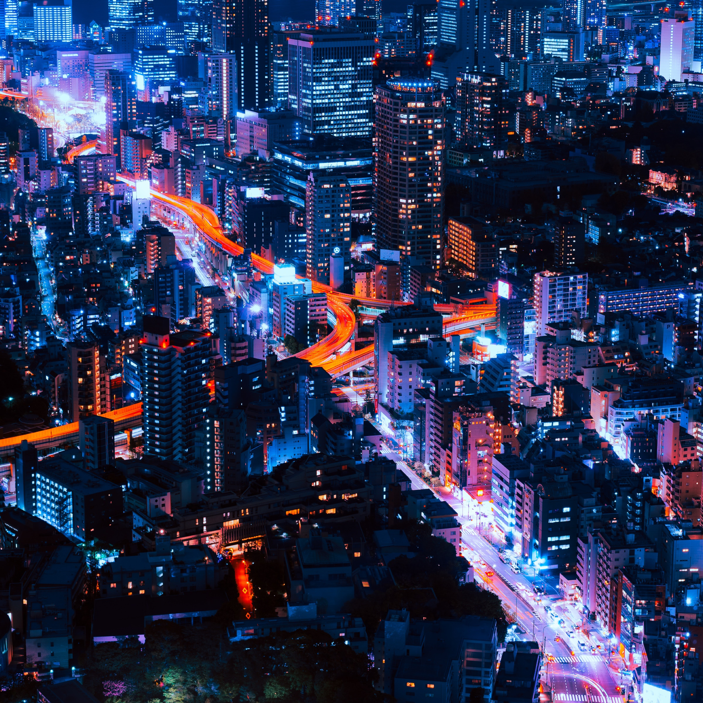 Wallpaper Weekends: Tokyo Infinity For IPhone, IPad, And
