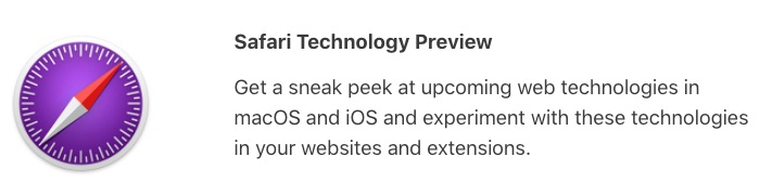 Safari Technology Preview 36 for Mac Release Offers Bug Fixes and Performance Improvements