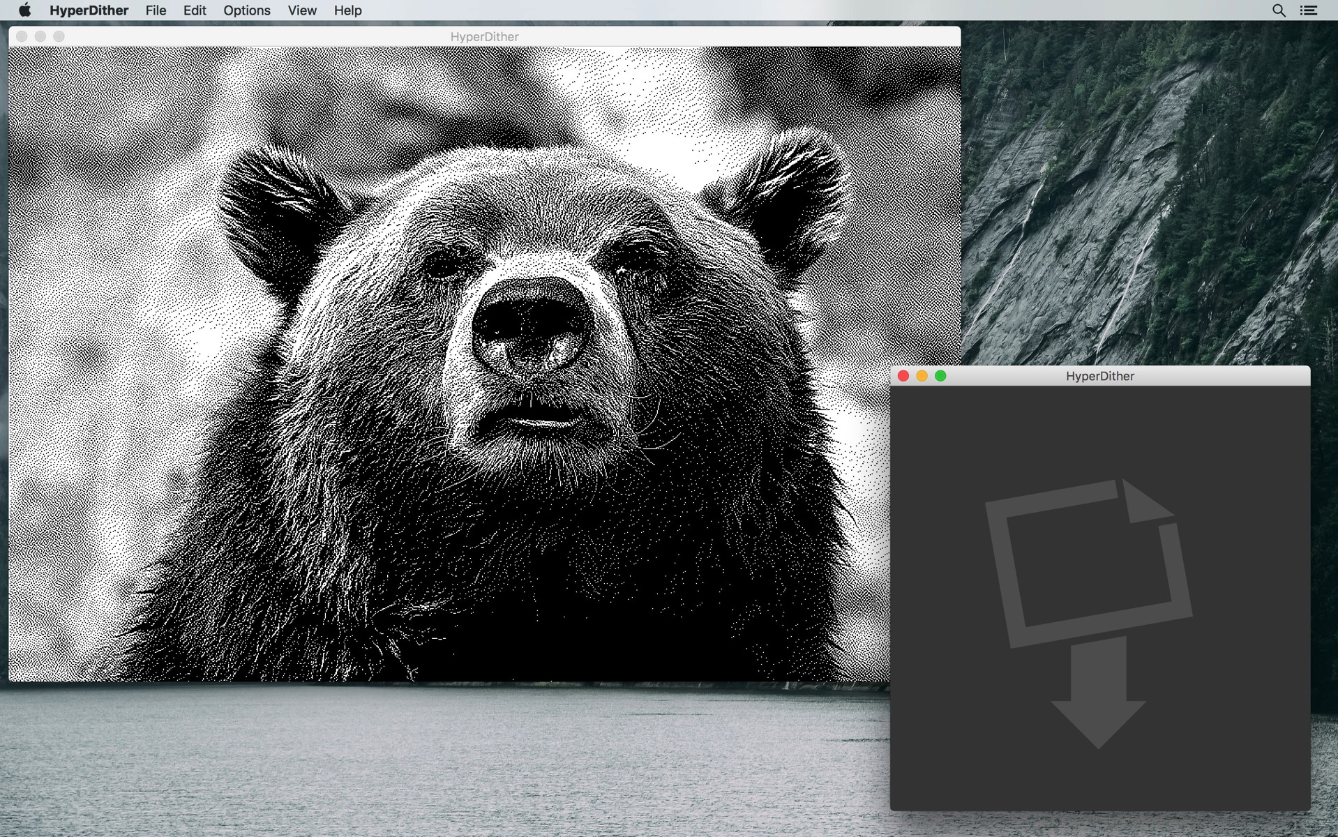How to Make Your Photos Look Like 1-Bit B&W Images from the Original Macintosh