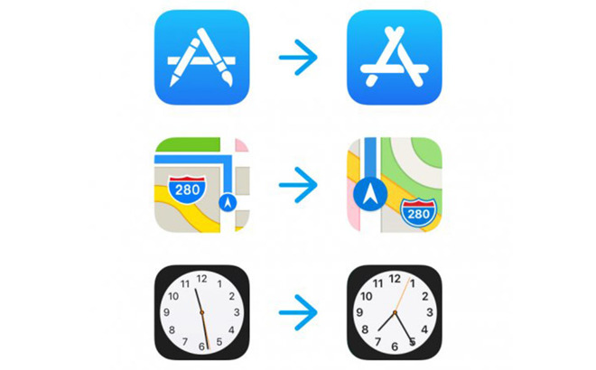Latest iOS 11 Beta Features Redesigned Icons for Maps, App Store, and Clock Apps