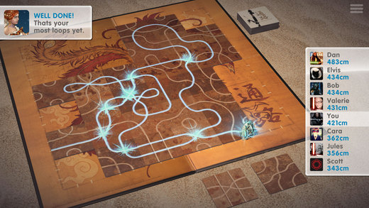 Digital Board Game 'Tsuro: The Game of the Path' Named Apple's Free App of the Week