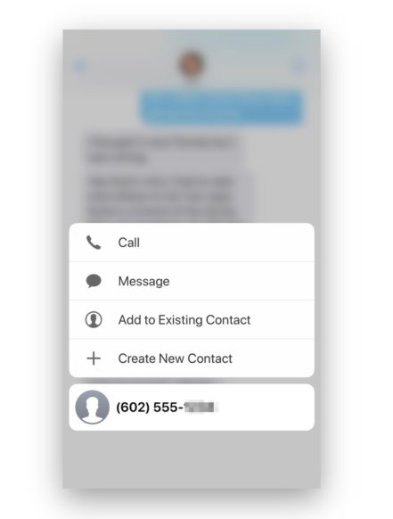 How to for Beginners: Dial a Phone Number from a Text Message on Your iPhone